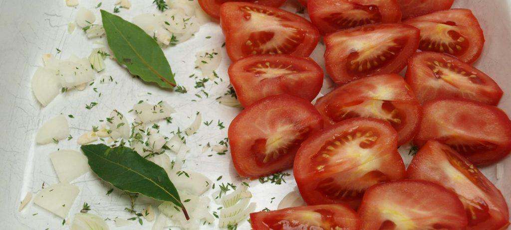 Gegrillte Tomatensauce